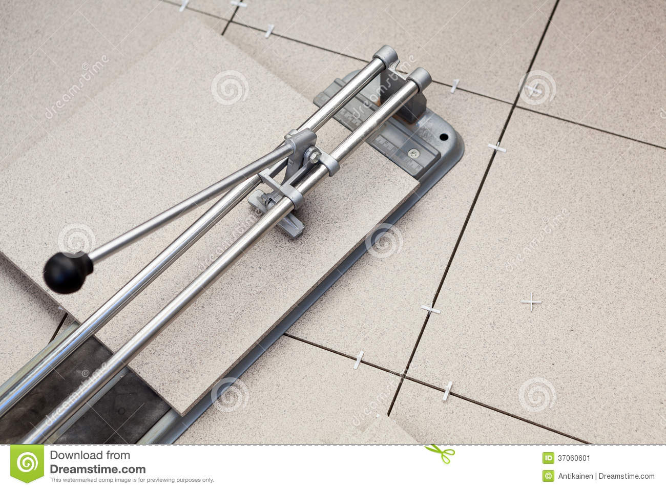 Tool for cutting porcelain tile stock image image of install tool for cutting porcelain tile dailygadgetfo Image collections