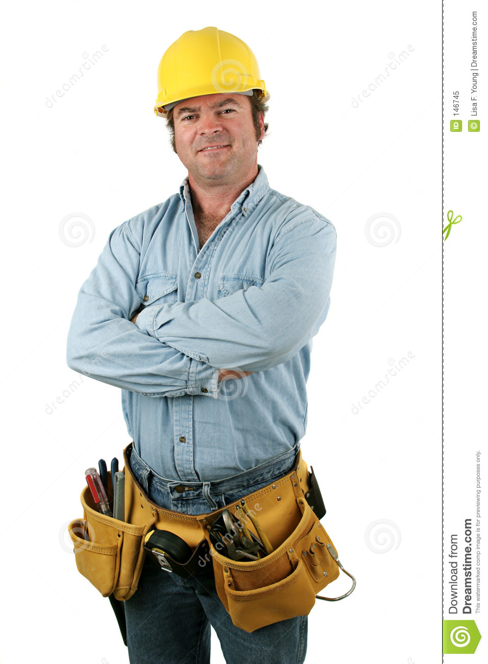 Tool Man - Friendly Royalty Free Stock Photo - Image: 146745