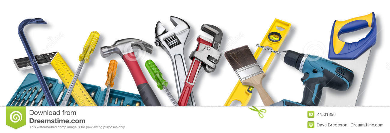 Tool Tools Border Background Stock Photo - Image: 27501350
