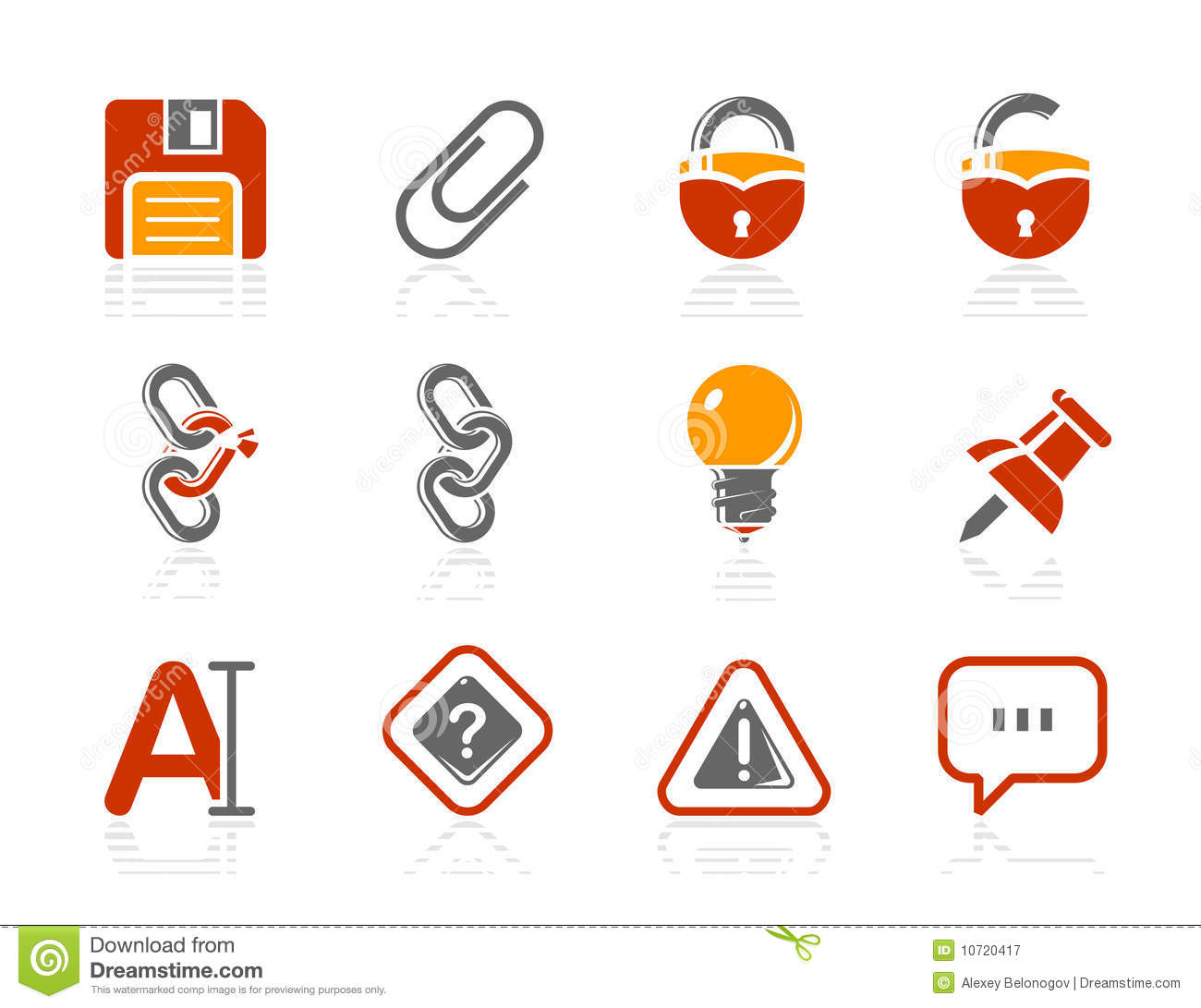 Toolbar and Interface icons   Sunshine Hotel serie