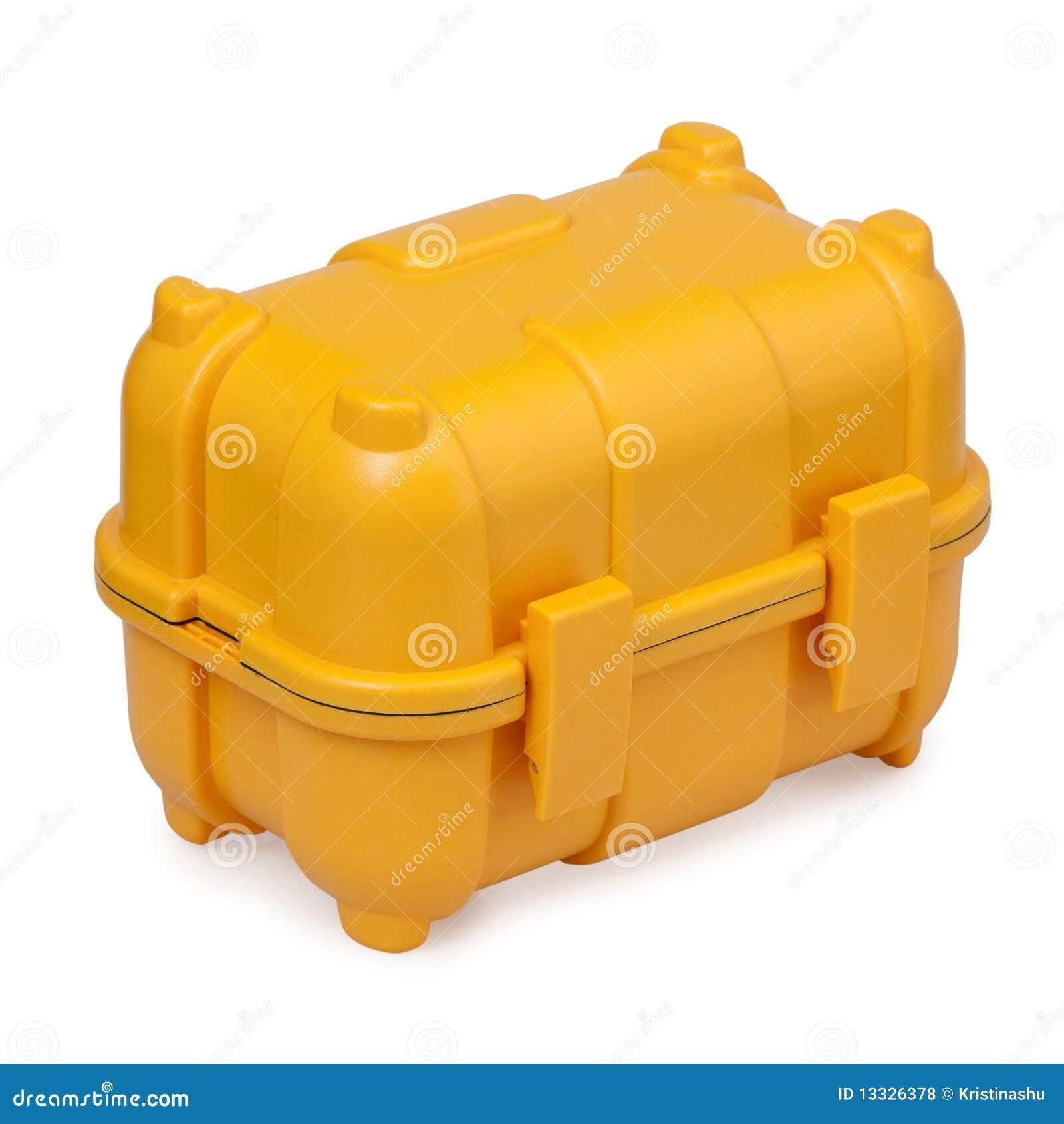 Toolbox plastikowy kolor żółty