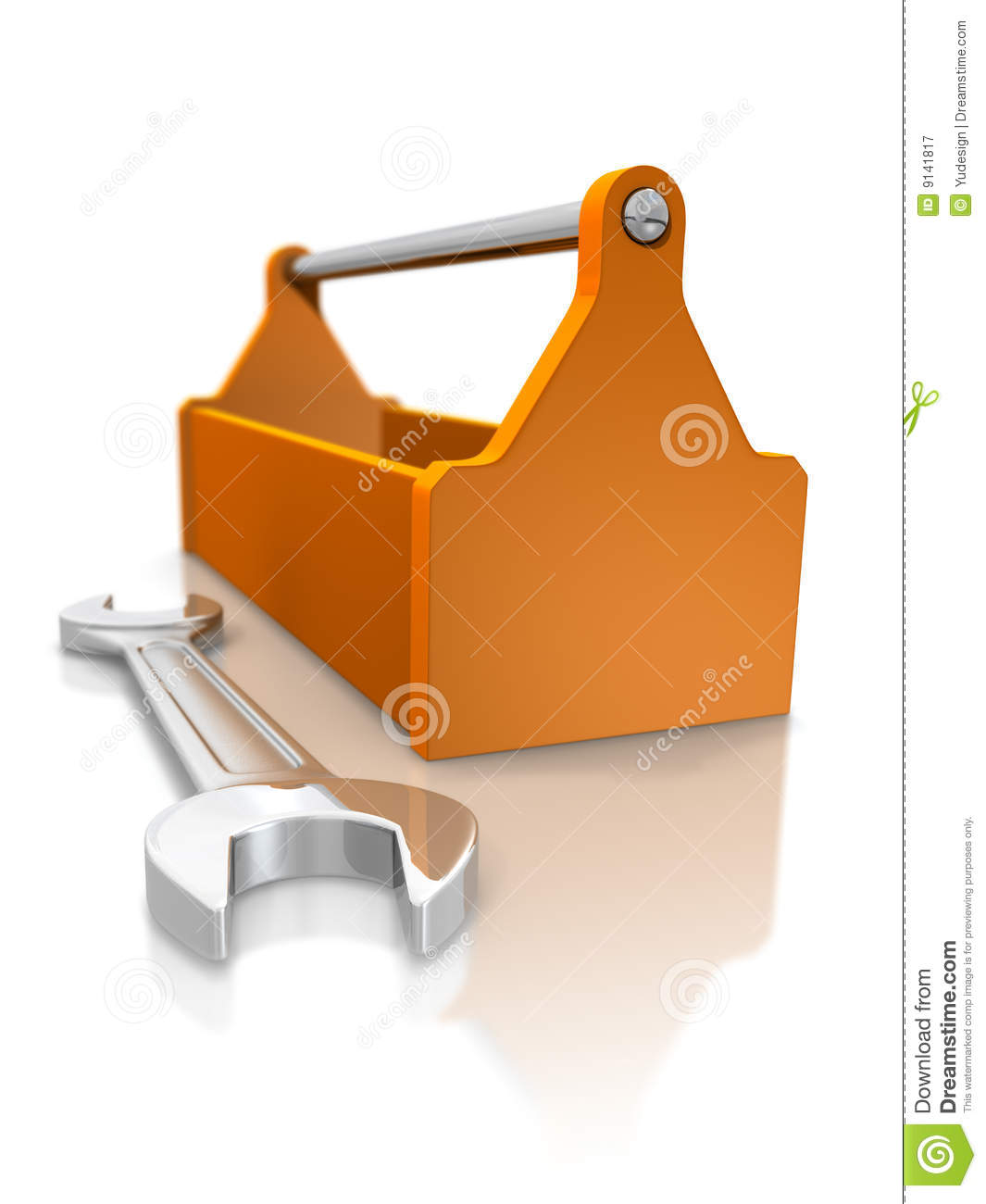 Toolbox and spanner