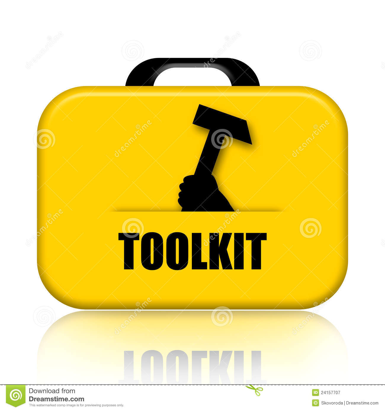 Toolkit Royalty Free Stock Photography Image 24157707