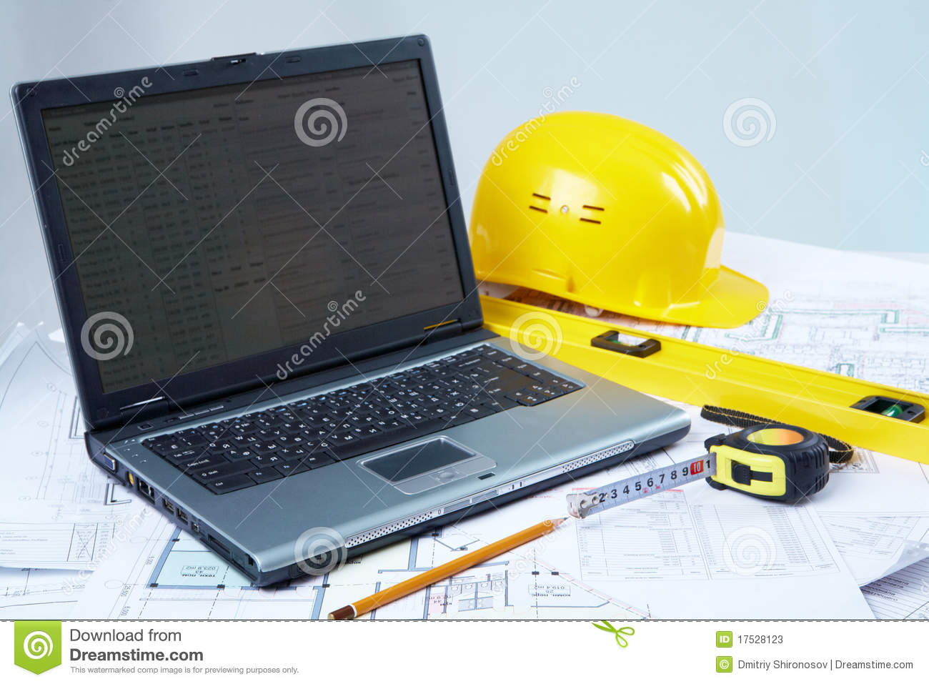 Tools for architectural design stock photos image 17528123 for Online architecture design tool