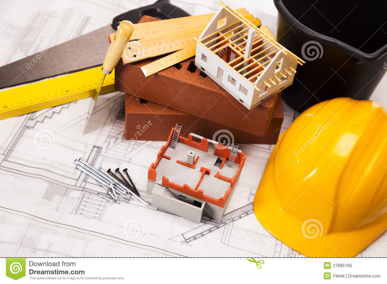 Tools, Building And Construction Equipment Stock Photo ...
