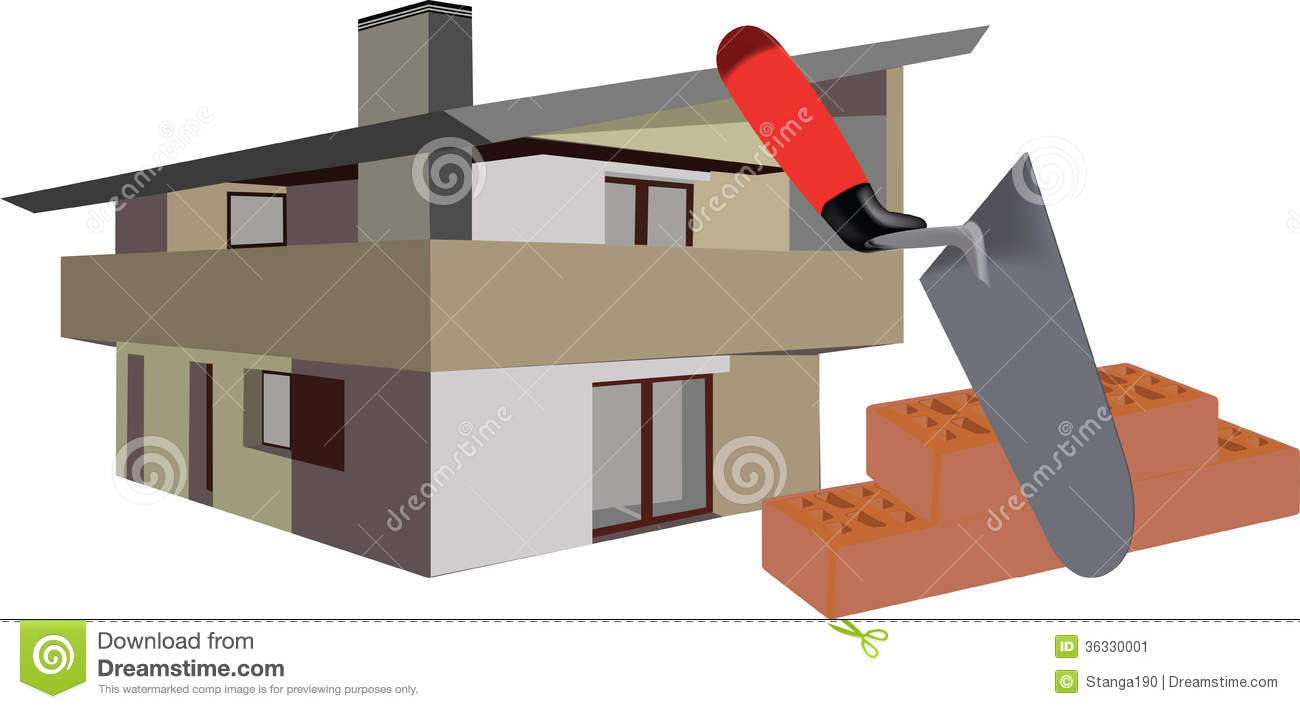 Tools for building stock image image 36330001 Building design tool