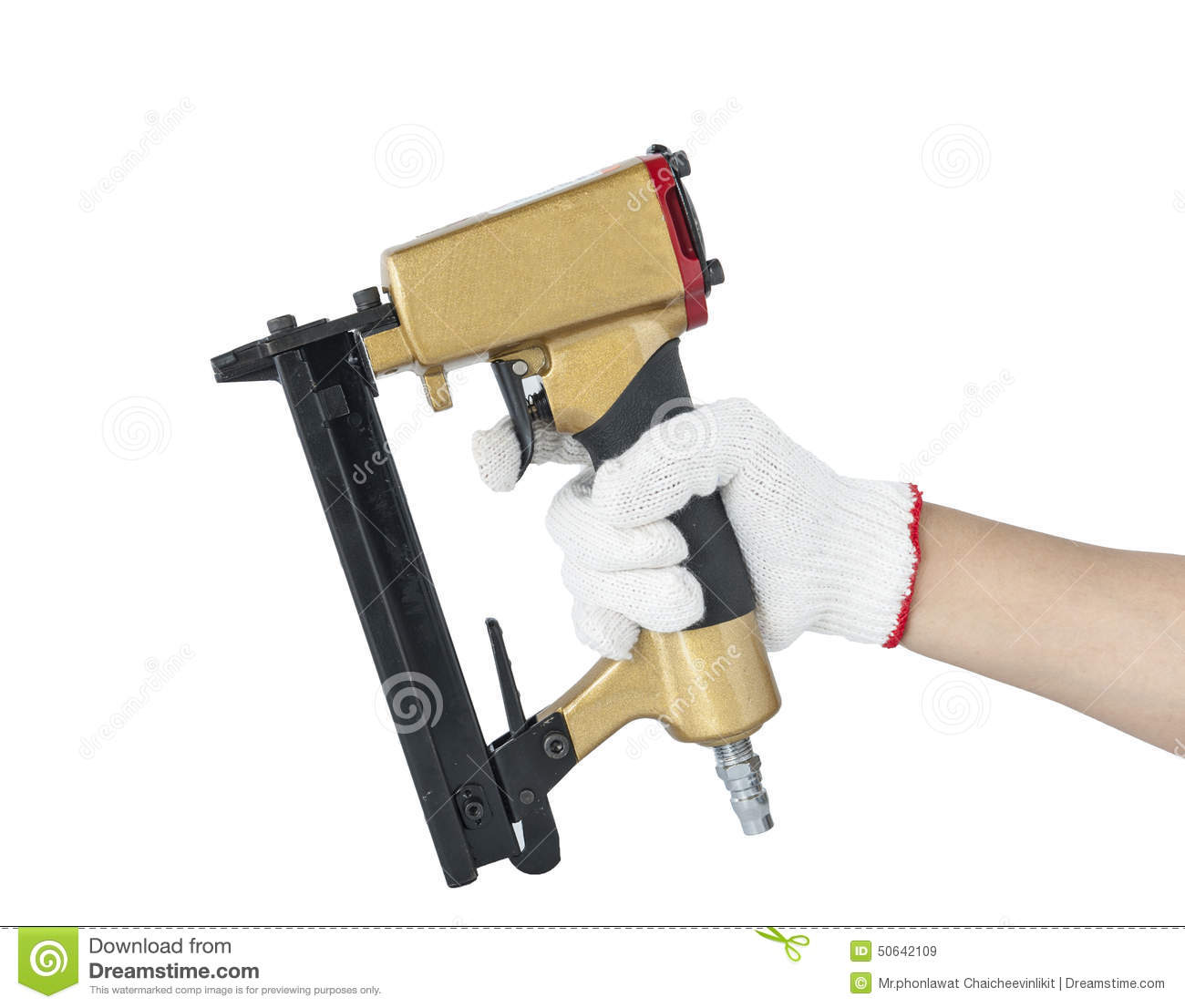 Tools Pneumatic nailers stock image. Image of isolated - 50642109