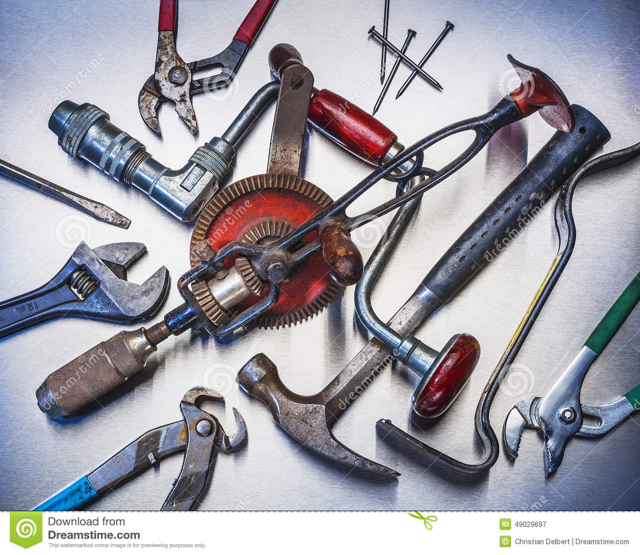 Tools Stock Photo - Image: 49029697
