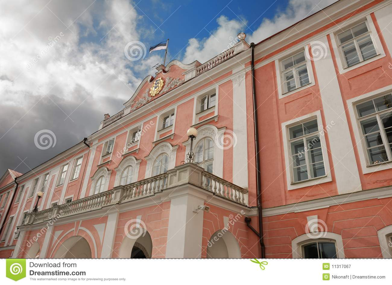 Toompea Schloss.