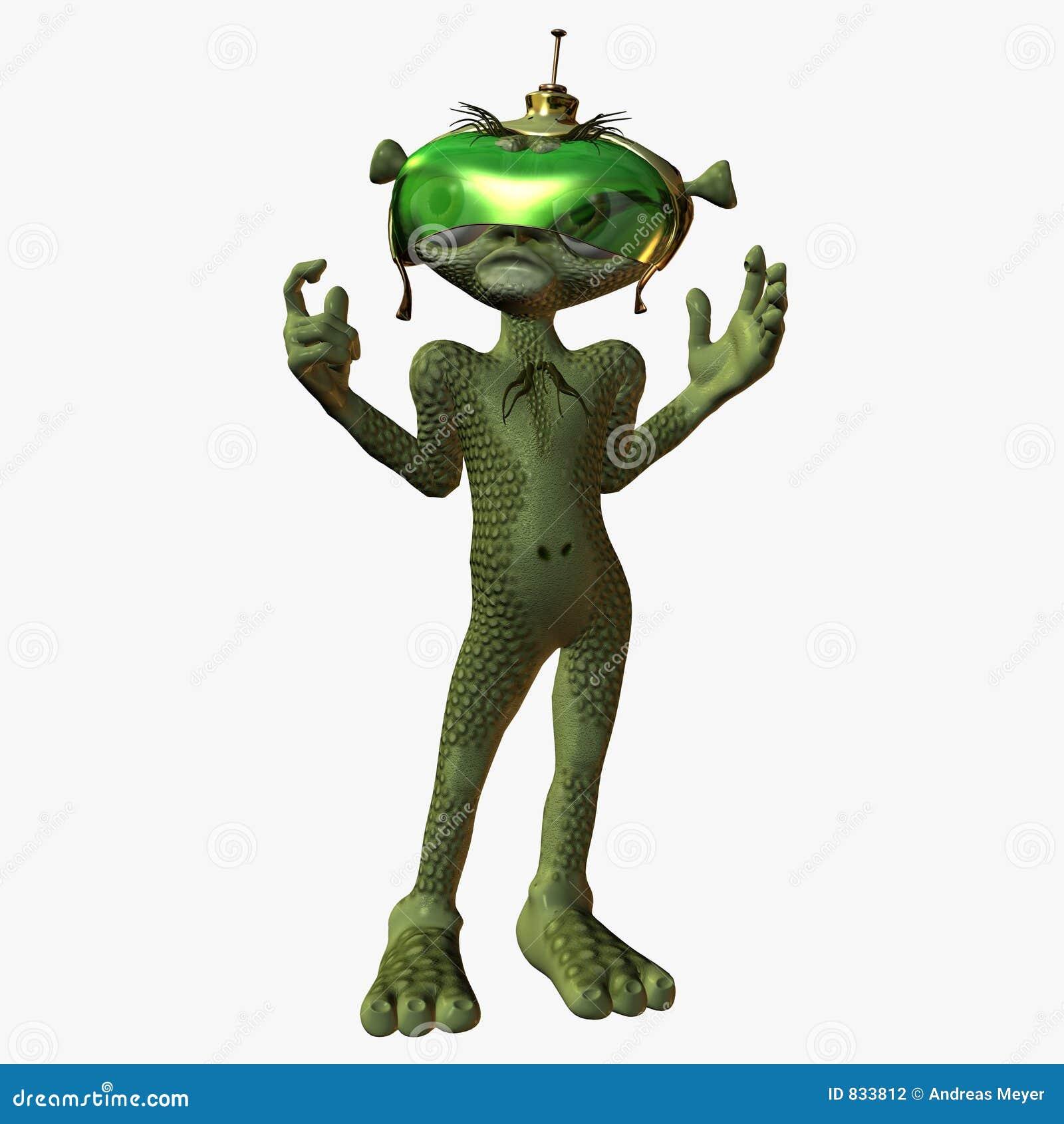 Toon Alien - Unhappy