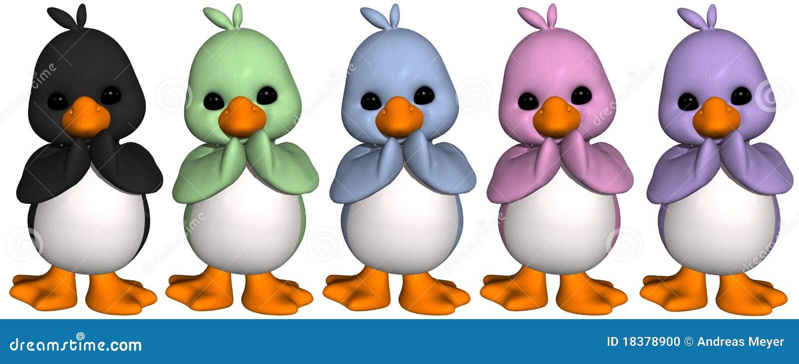 Toon-Pinguin