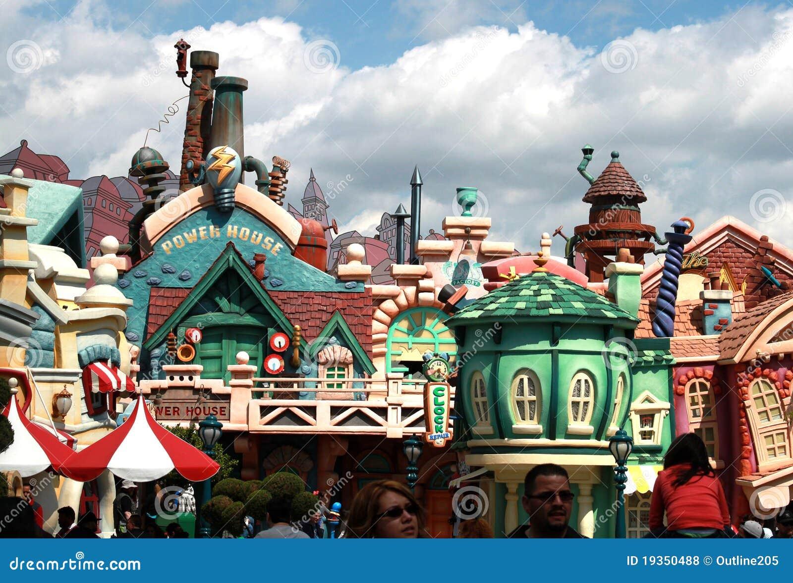 Toontown de Mickey em Disneylâandia