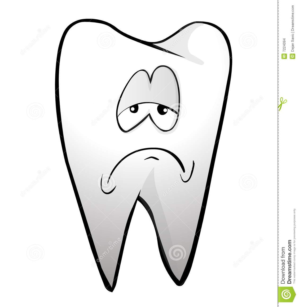 Tooth Stock Illustration Illustration Of Drawing Tooth 7224094