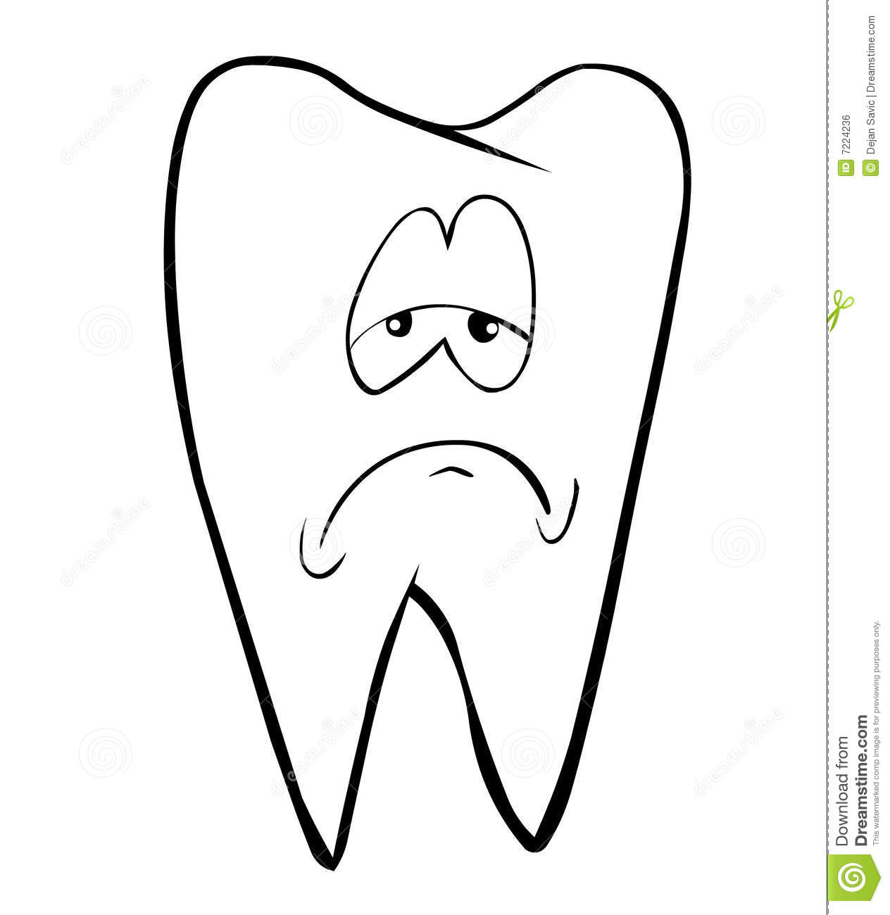 tooth royalty free stock image image 7224236