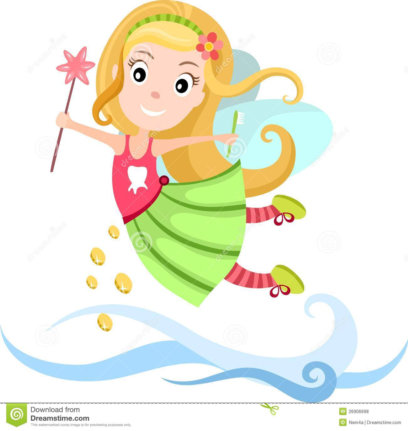 Tooth Fairy Royalty Free Stock Photos - Image: 26906698