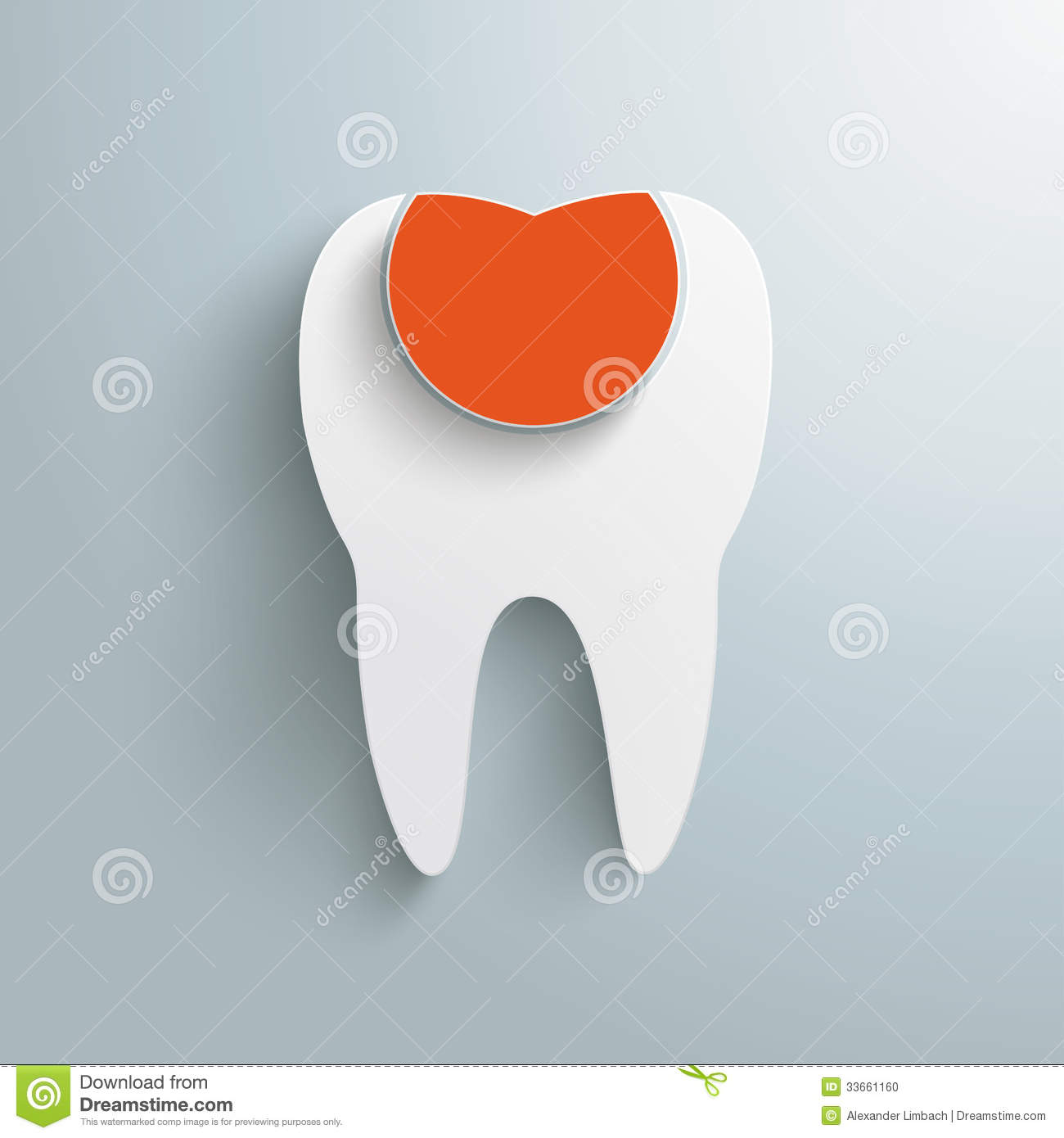 Infographic design on the grey background eps 10 vector file - Tooth Filling Infographic Piad Stock Photo Image 33661160