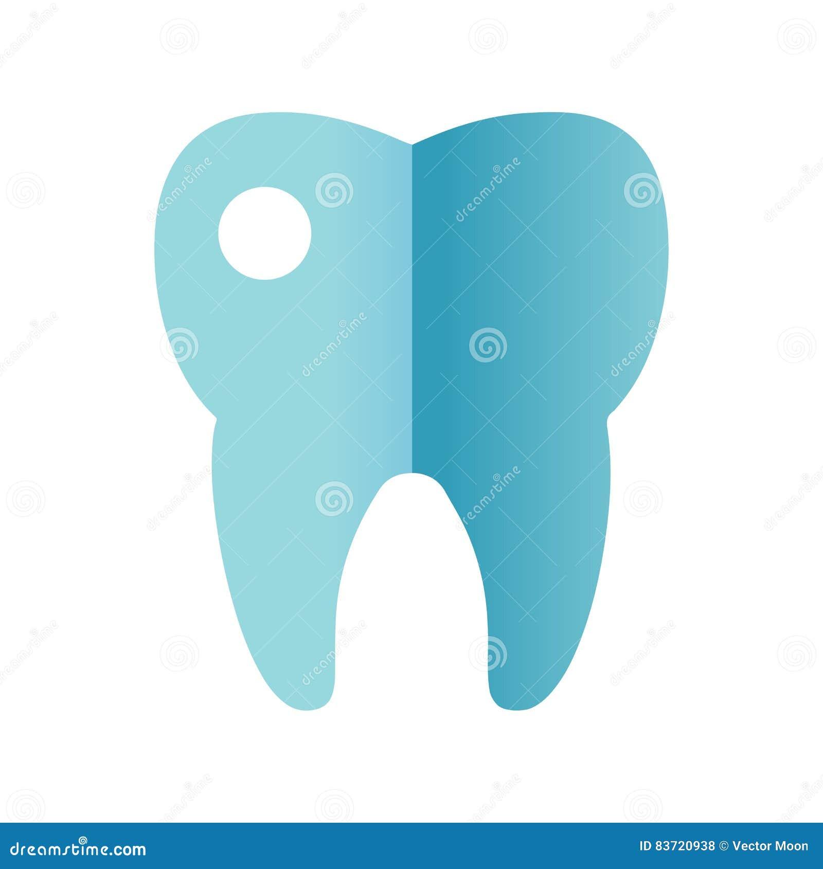 Tooth Icon Vector. Stock Vector
