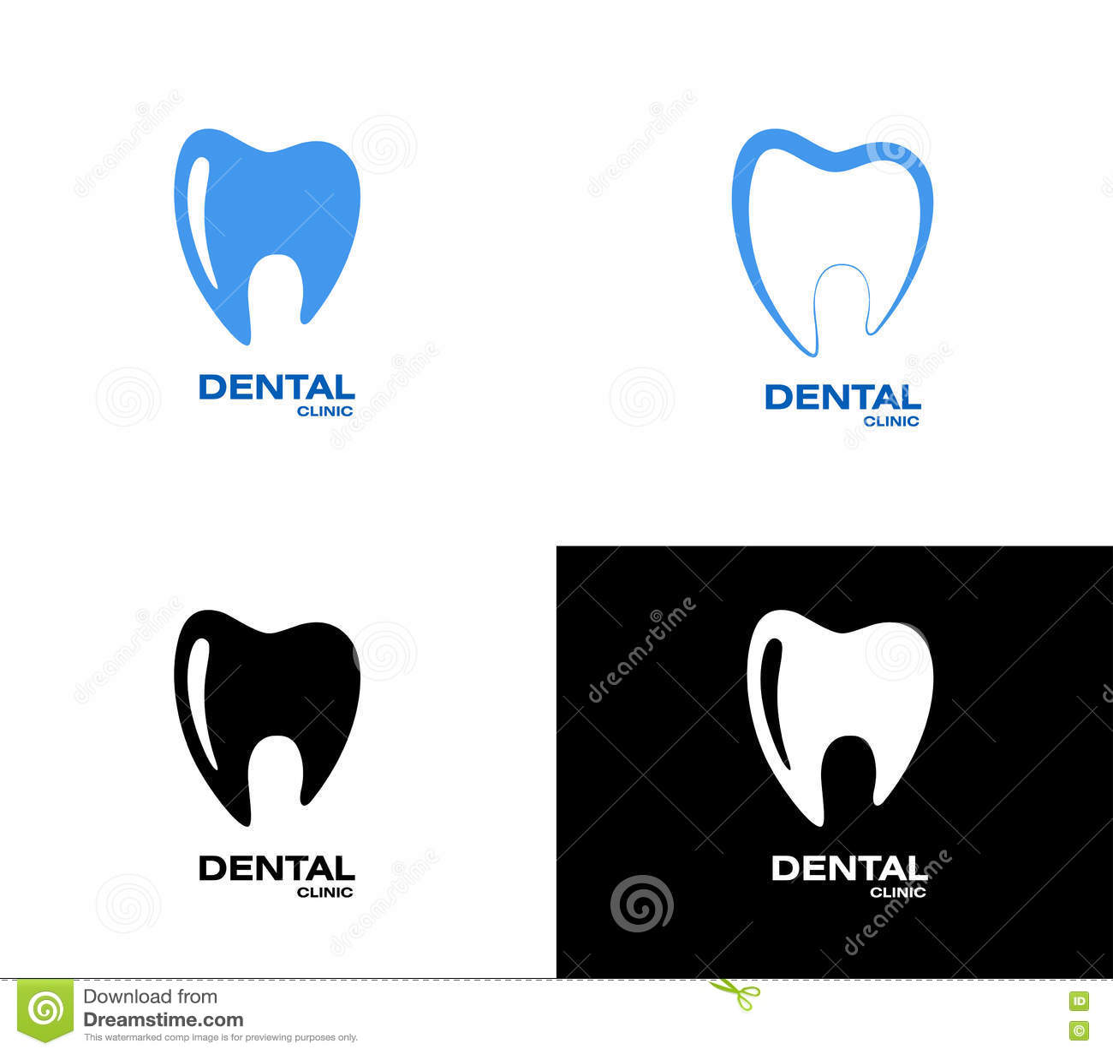 Tooth Logo Stock Vector Illustration Of Enamel Healthy 79674145