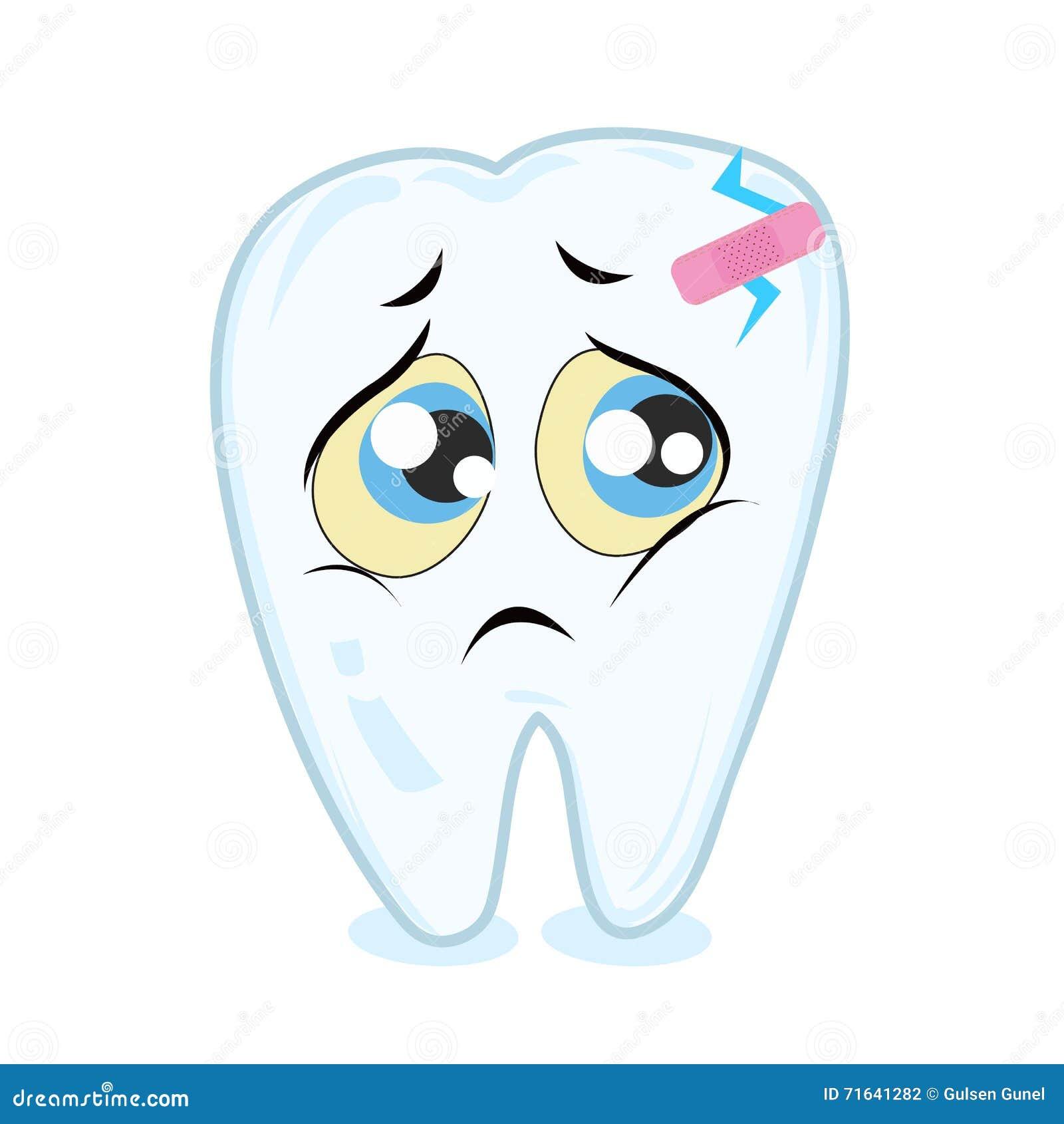 Словами поздравления, картинка больного зуба для детей