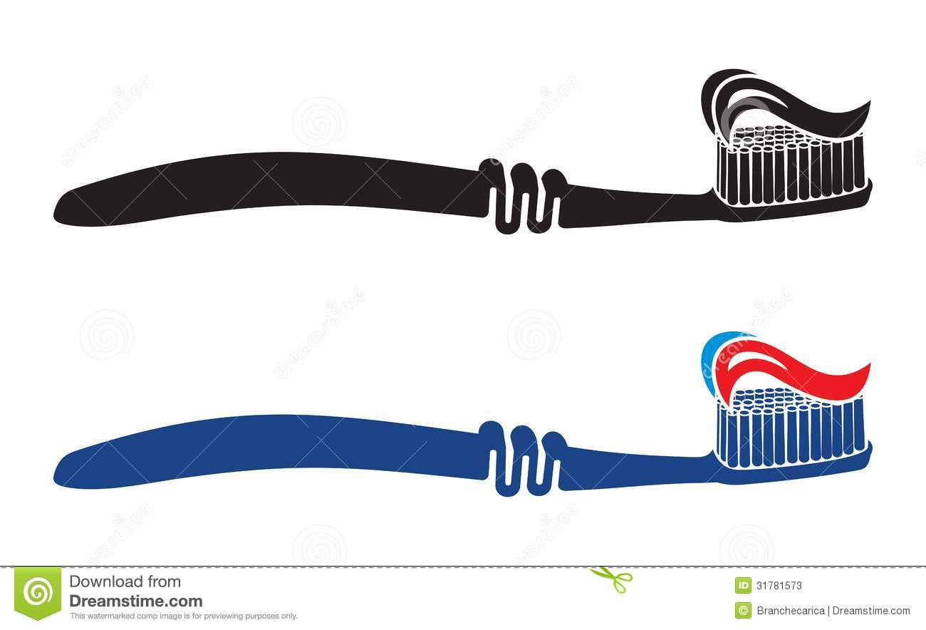 Toothbrush Set Illustration Stock Photos - Image: 31781573