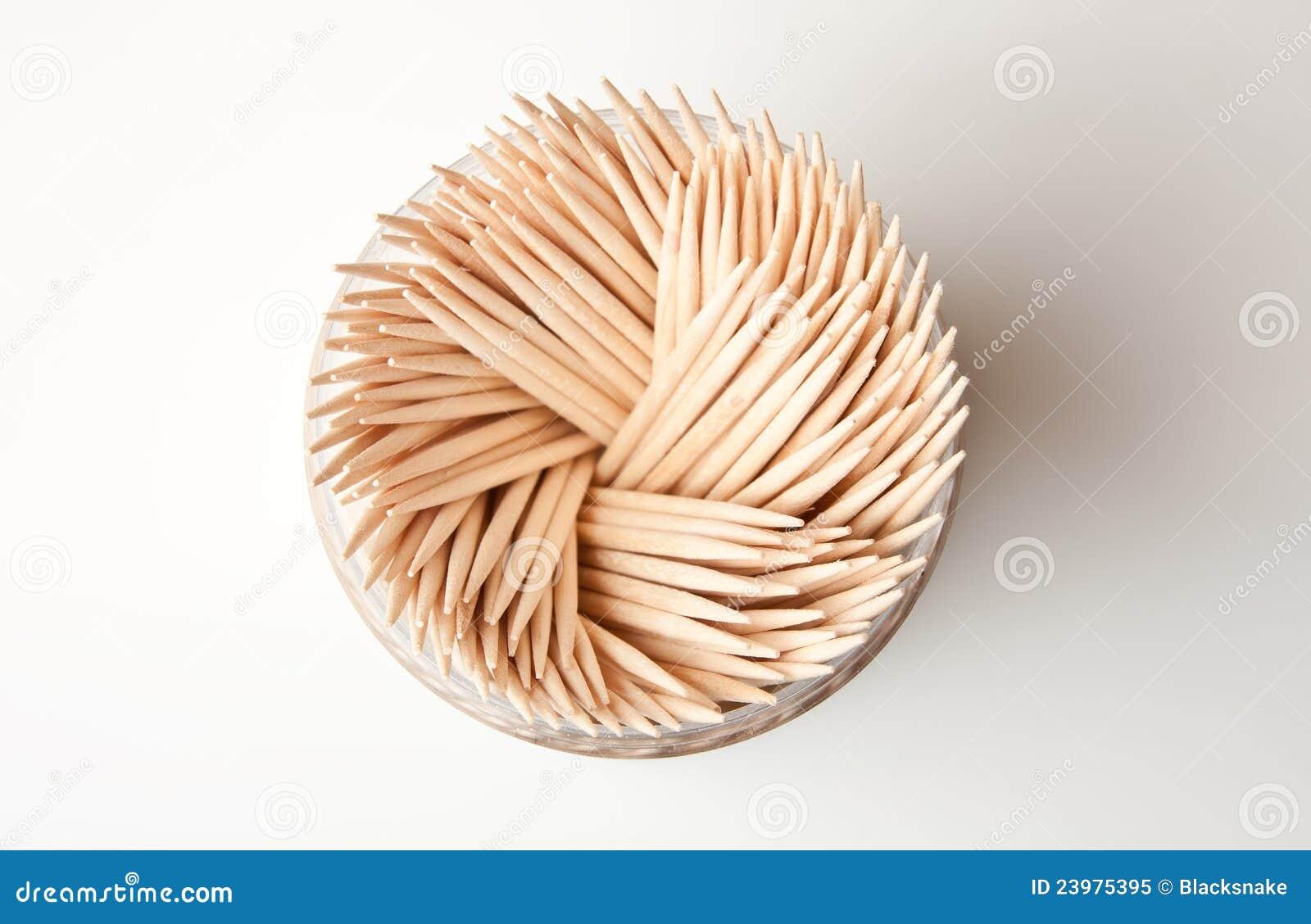 Toothpick di legno della cucina