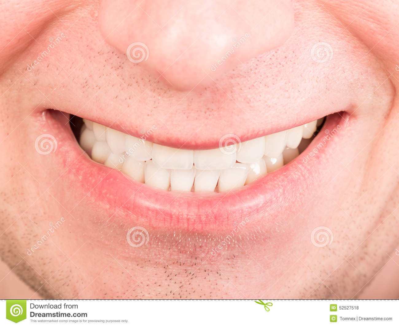 Toothy Smile Stock Photo - Image: 52527518