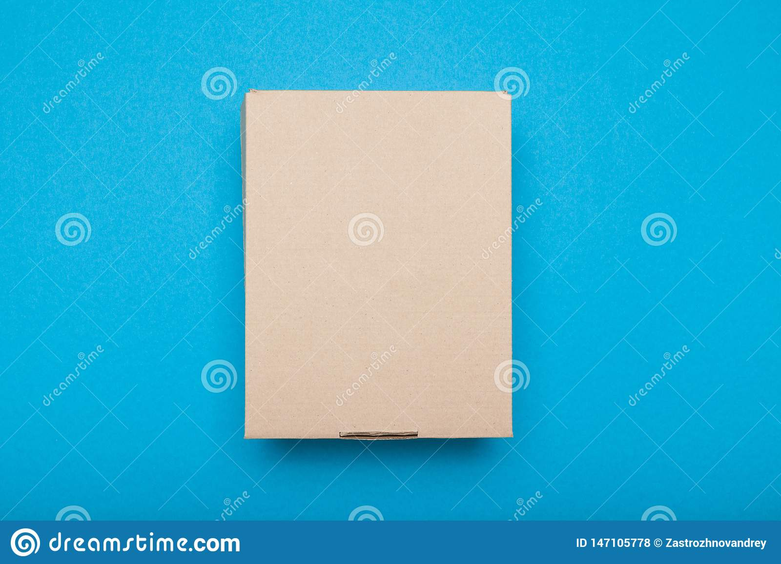 Top Cardboard Box, Delivery Package  Brown Carton Shipping