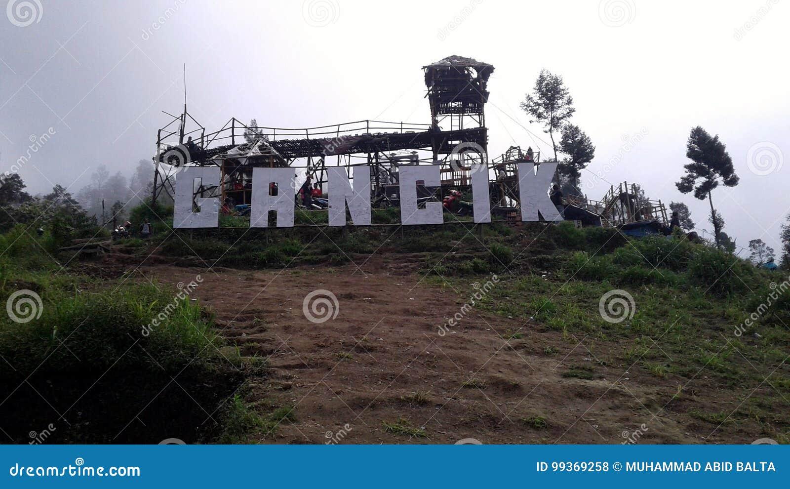 Top de la colina de Gancik