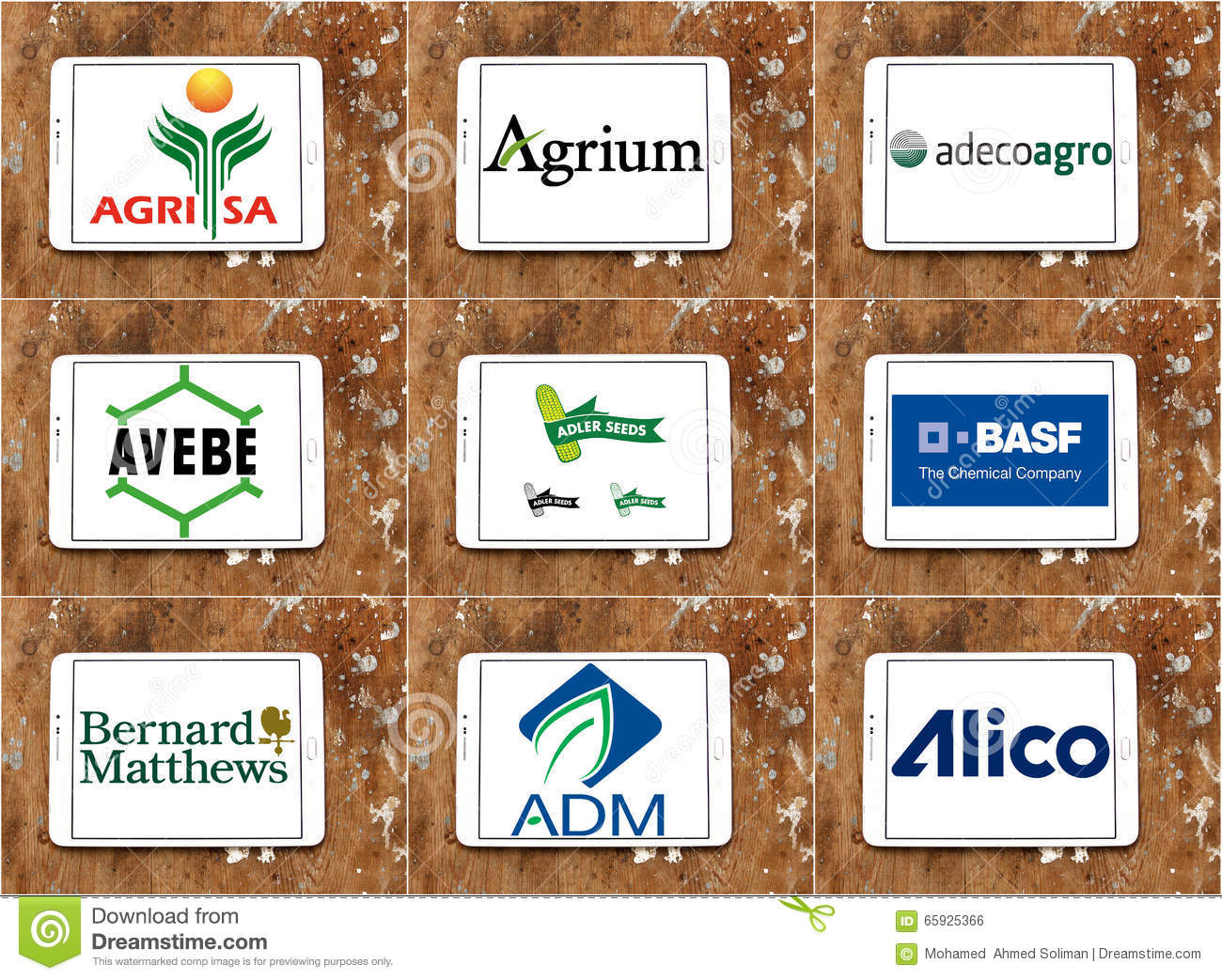 Top Famous Agriculture Companies Logos And Brands Editorial