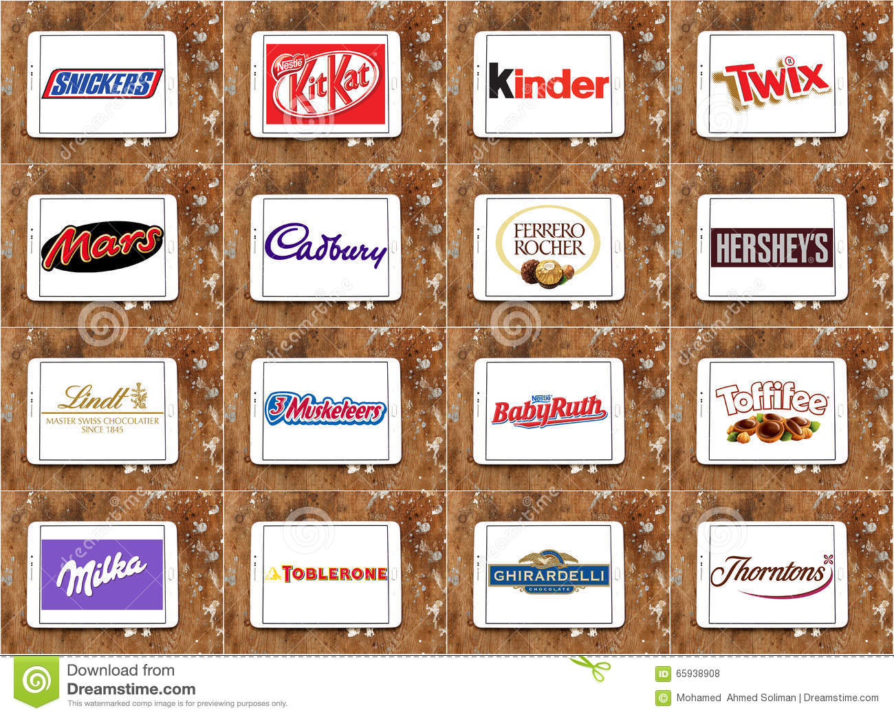Image result for famous chocolate company logos