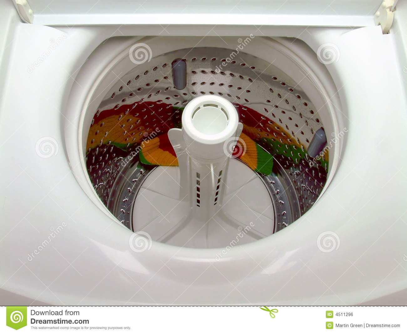 Top Loader Washing Machine Clip Art