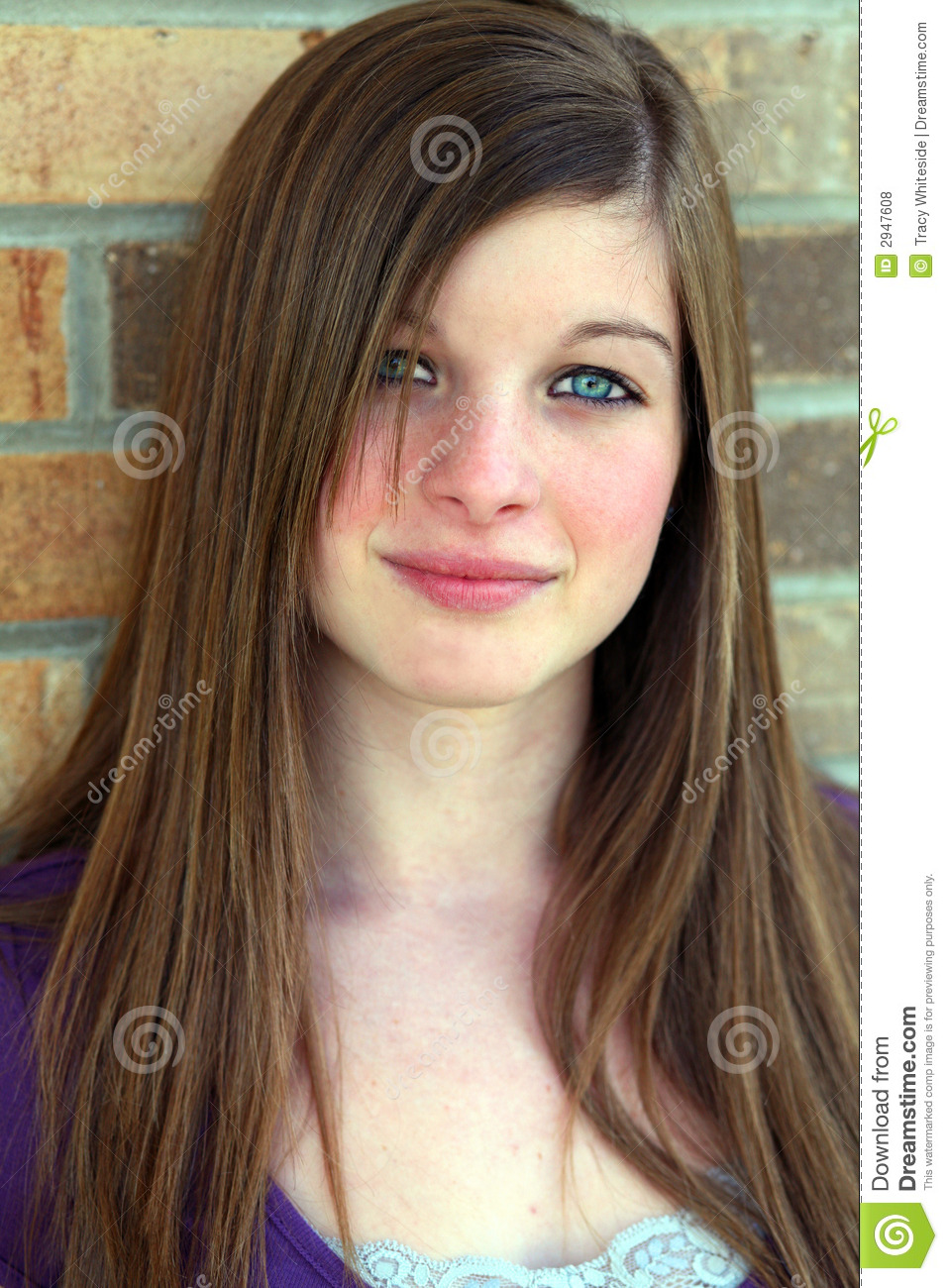 Top Model Stock Photo. Image Of Person, Female, Pose, Face