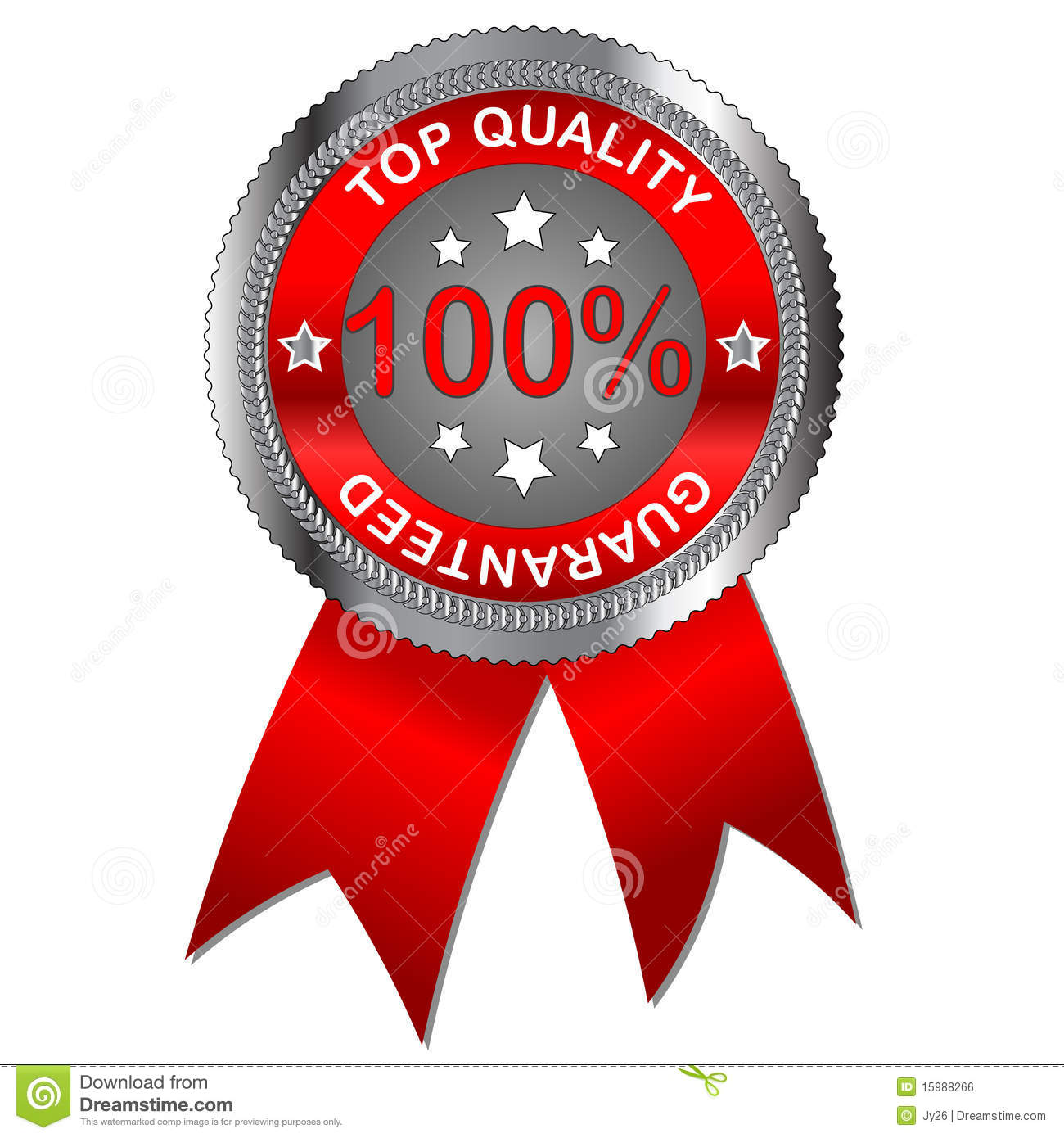Top Quality Label Stock Vector. Illustration Of Hundred