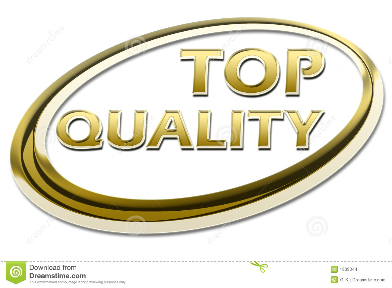 TOP Quality Symbol Stock Illustration. Image Of Pure