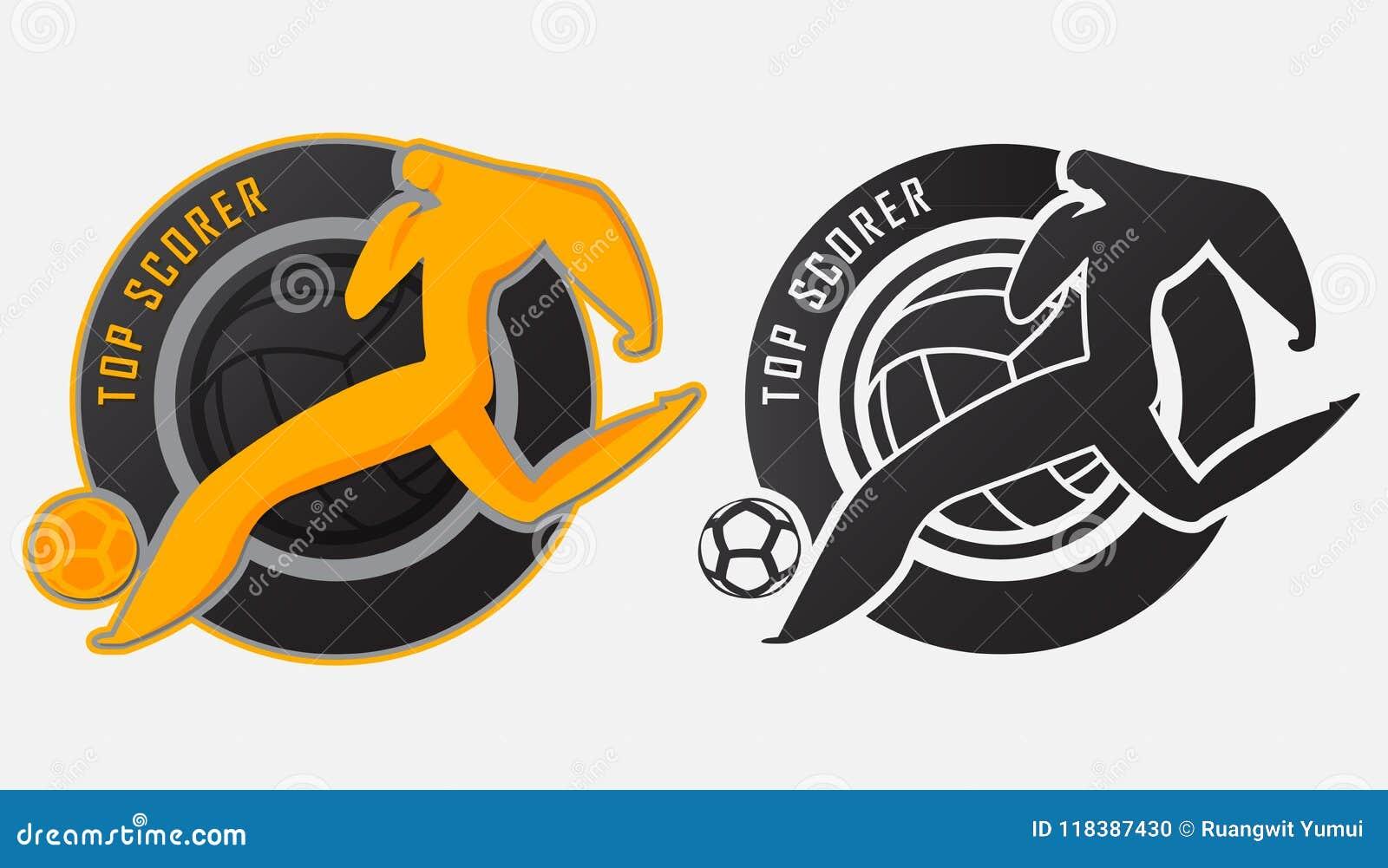 Printtop Scorer Trophy Best Soccer Player Or Football Player Award