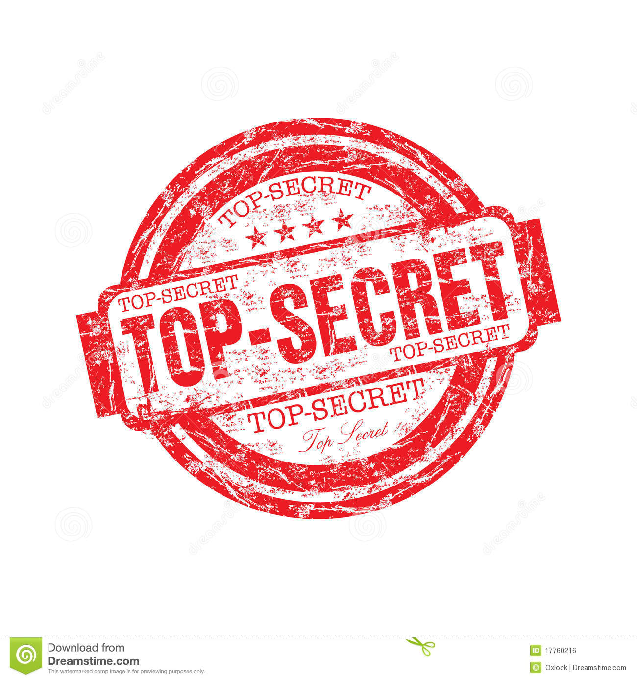 Confidential Stamp Png Top secret rubber stamp