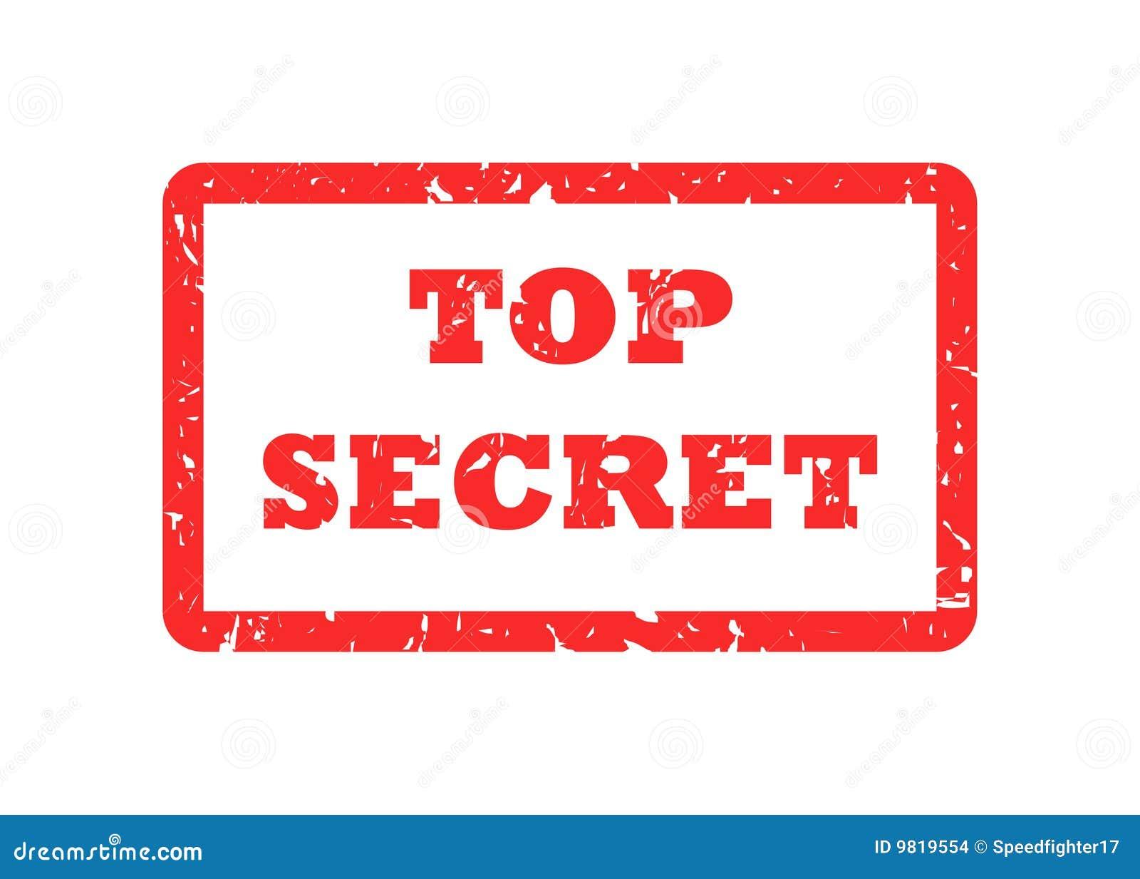 top secret stamp stock images image 9819554. Black Bedroom Furniture Sets. Home Design Ideas