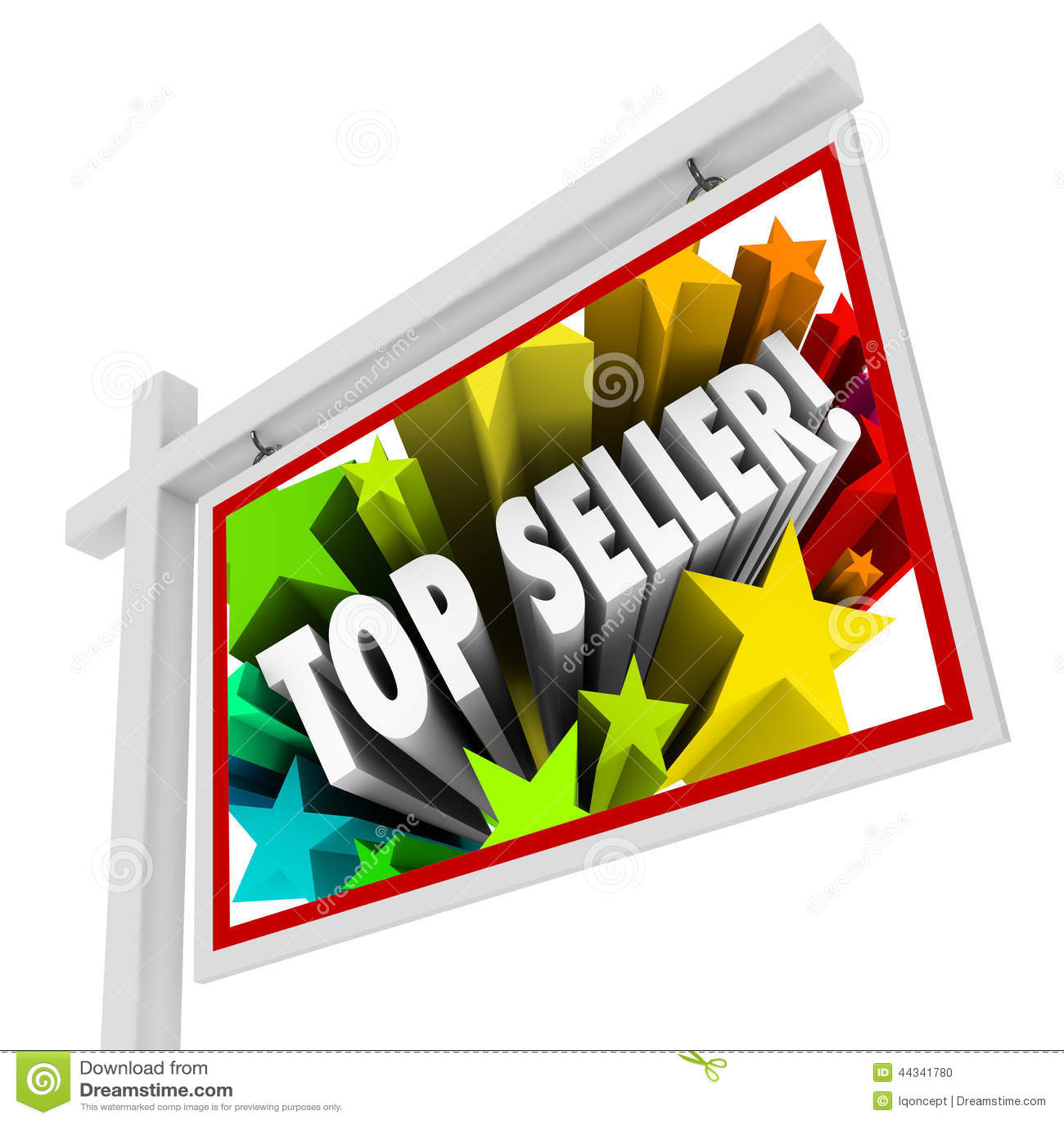 Best Sales: Top Seller Real Estate Sign Best Selling Agency Agent