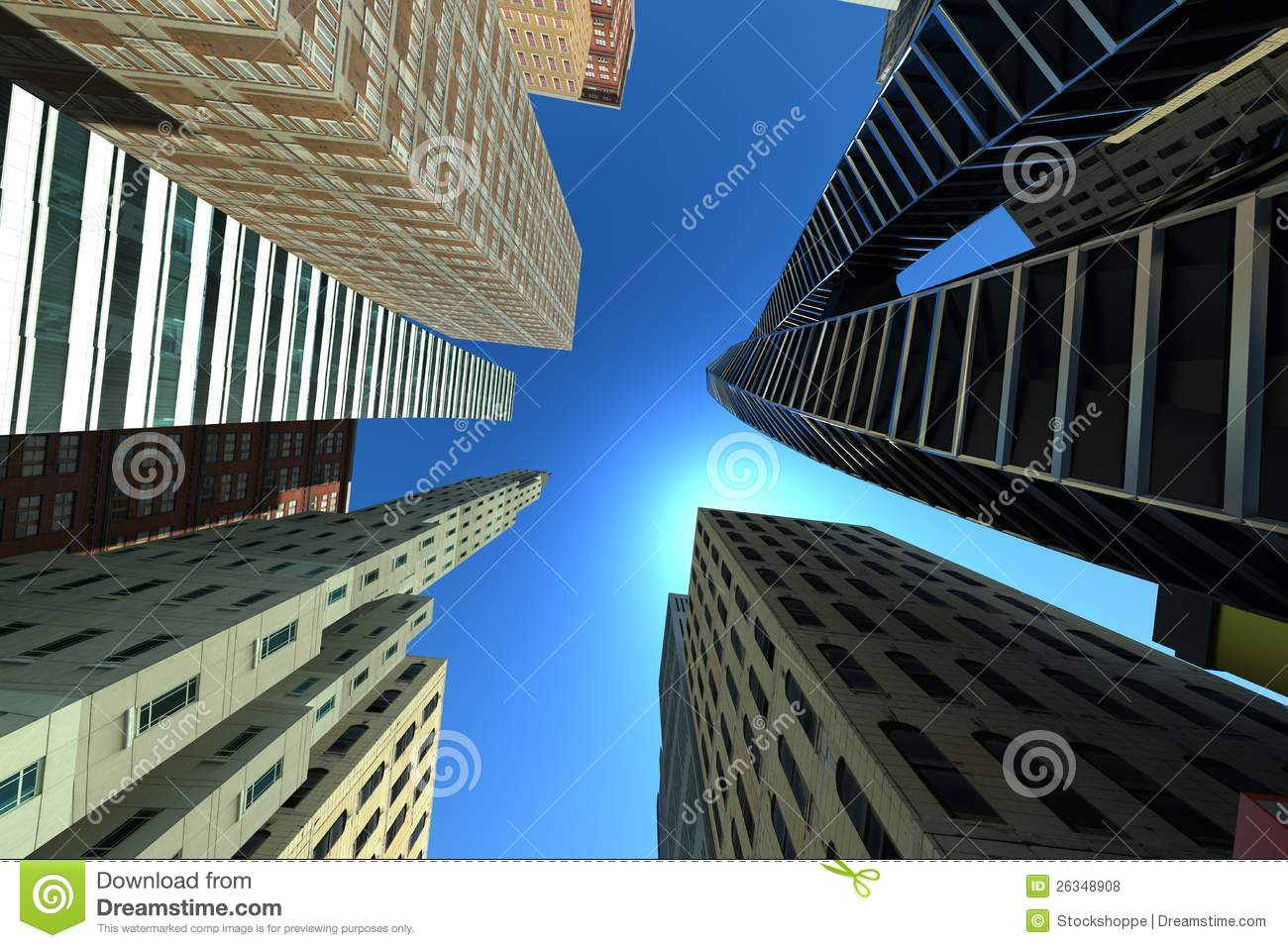 Top View Of Building Royalty Free Stock Photos Image
