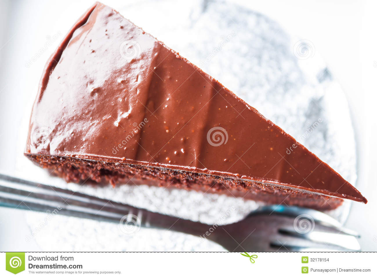 Cake Images Top View : Top View Of Chocolate Cake Stock Images - Image: 32178154