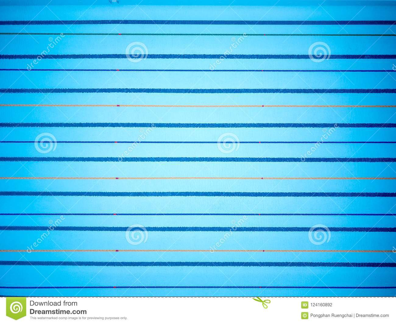 Download Top View Of Empty Swimming Pool Stock Photo
