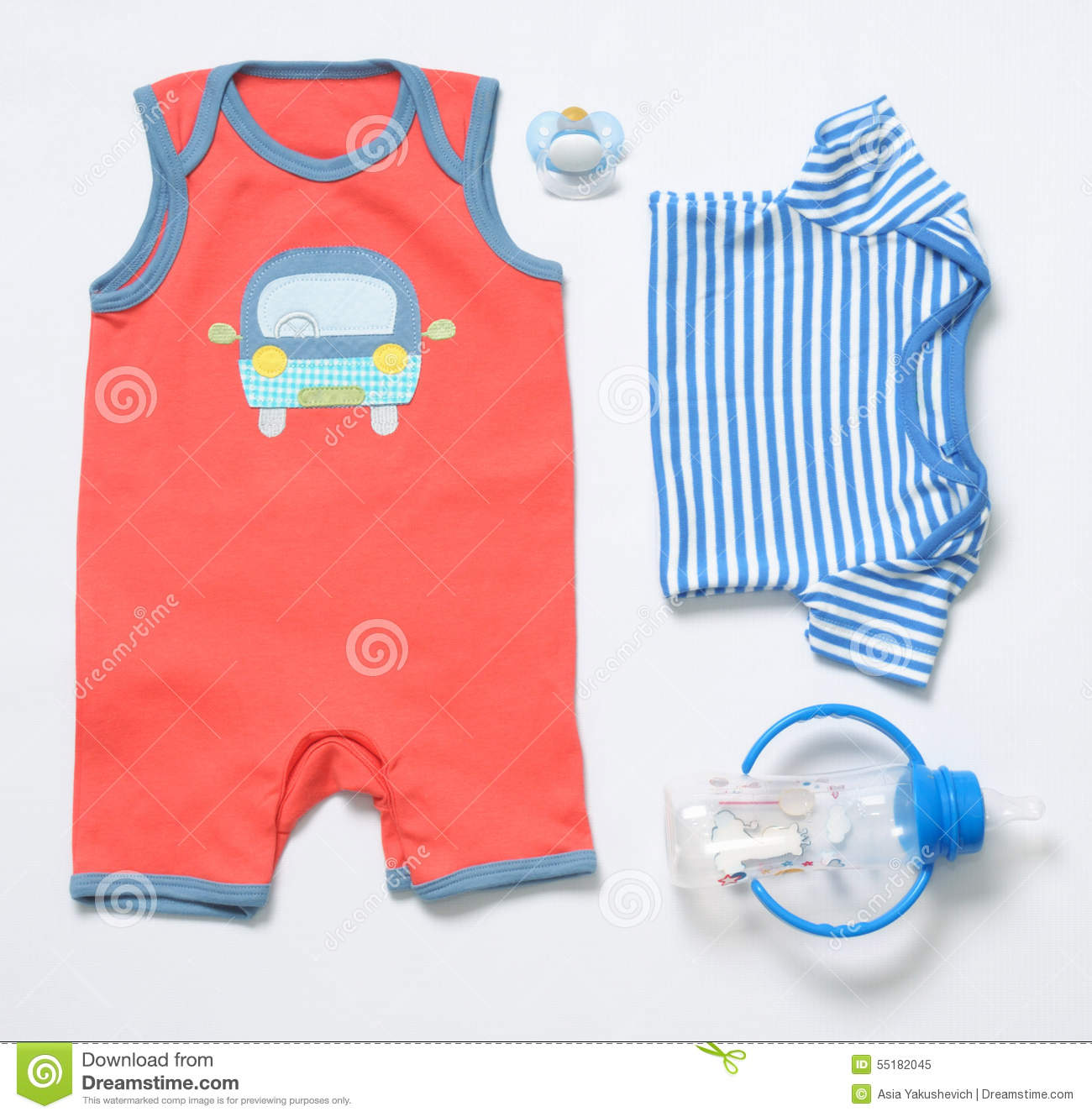 Top View Fashion Trendy Look Baby Boy Clothes And Stuff