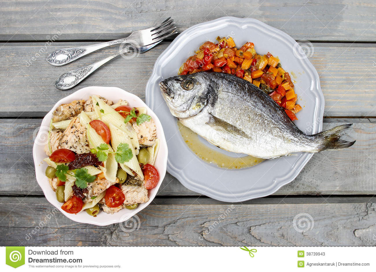 Gilt head bream fish healthy food stock photography for Which fish is healthiest
