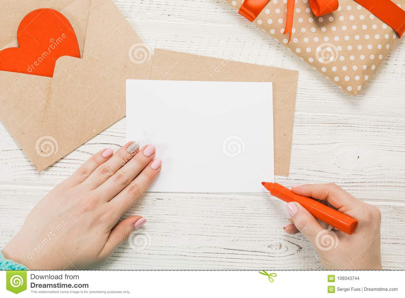 Top view hand of girl writing love letter stock photo image of download top view hand of girl writing love letter stock photo image of spiritdancerdesigns Gallery