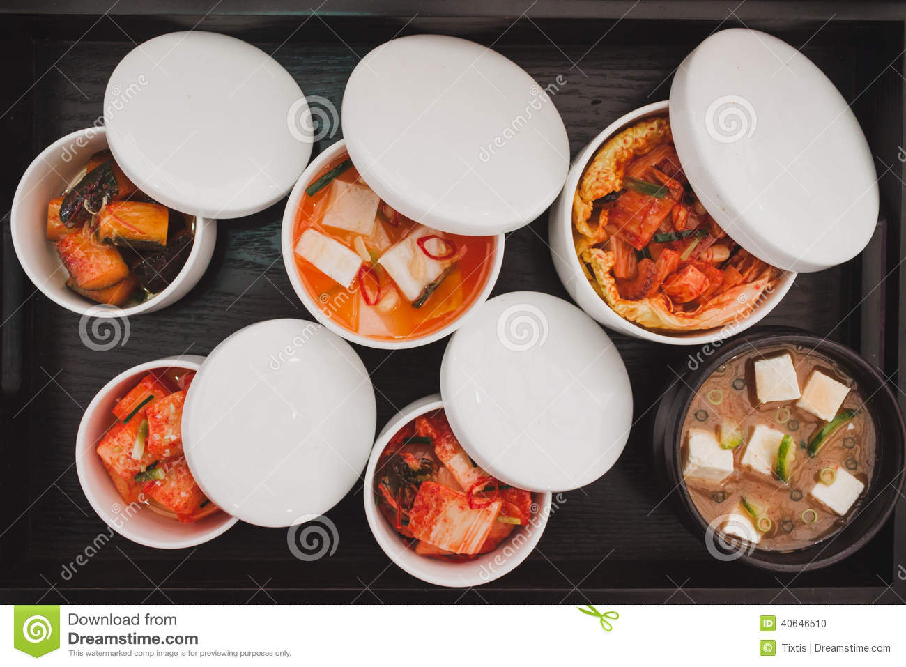 Top view of japanese traditional food stock photo image for Ancient japanese cuisine