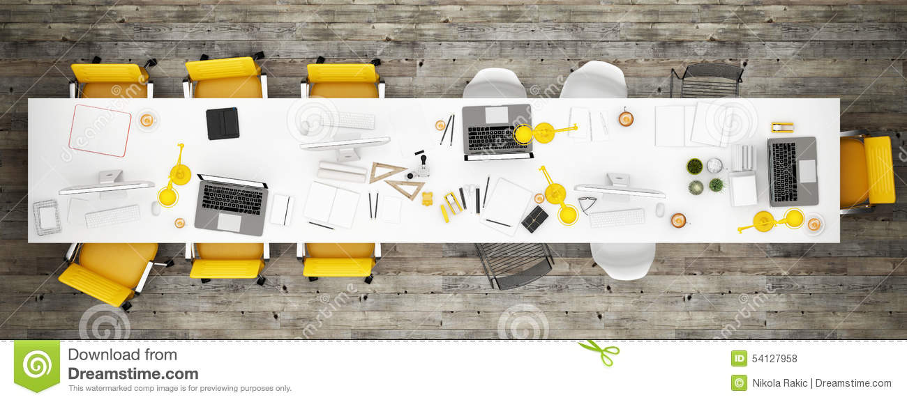 Top View Office Room Wooden Floor Background Stock  : top view office room wooden floor background d illustration 54127958 from www.dreamstime.com size 1300 x 577 jpeg 108kB