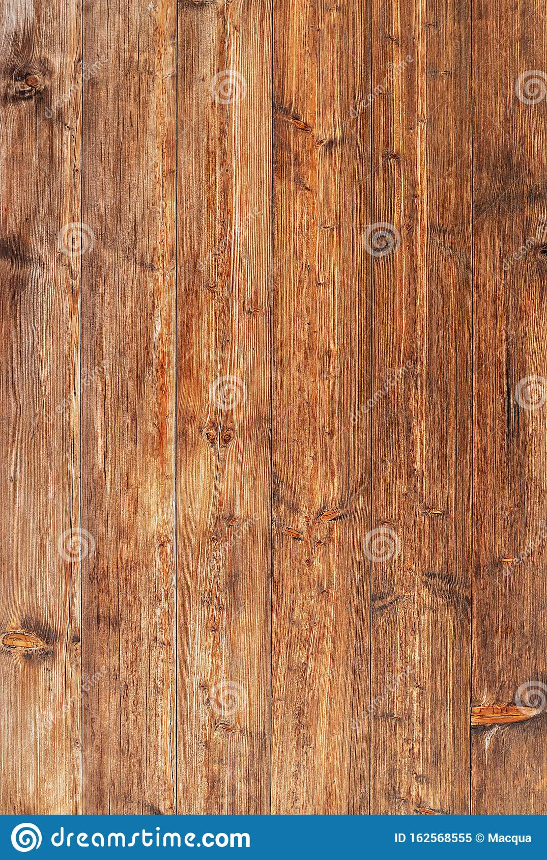 Top view of old wooden panels. Background. Old wood texture.