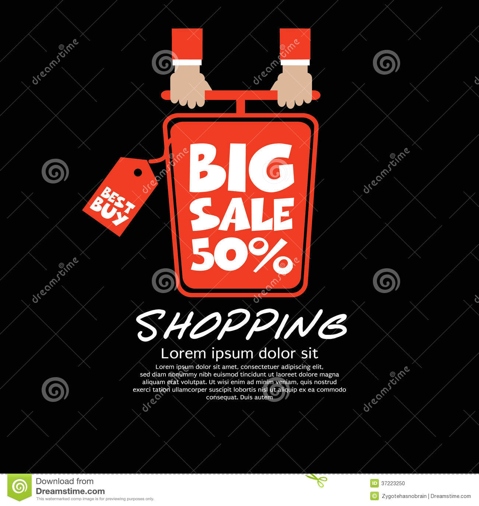 Top View Shopping Cart. Stock Photo - Image: 37223250