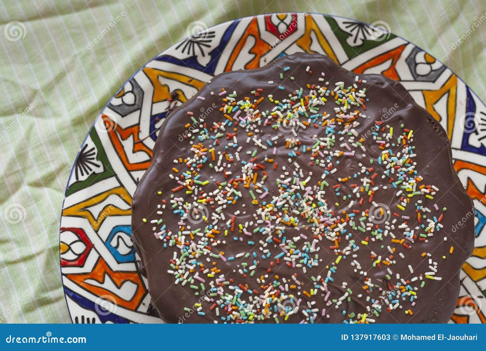 Birthday Homemade Cake Concept For Kids