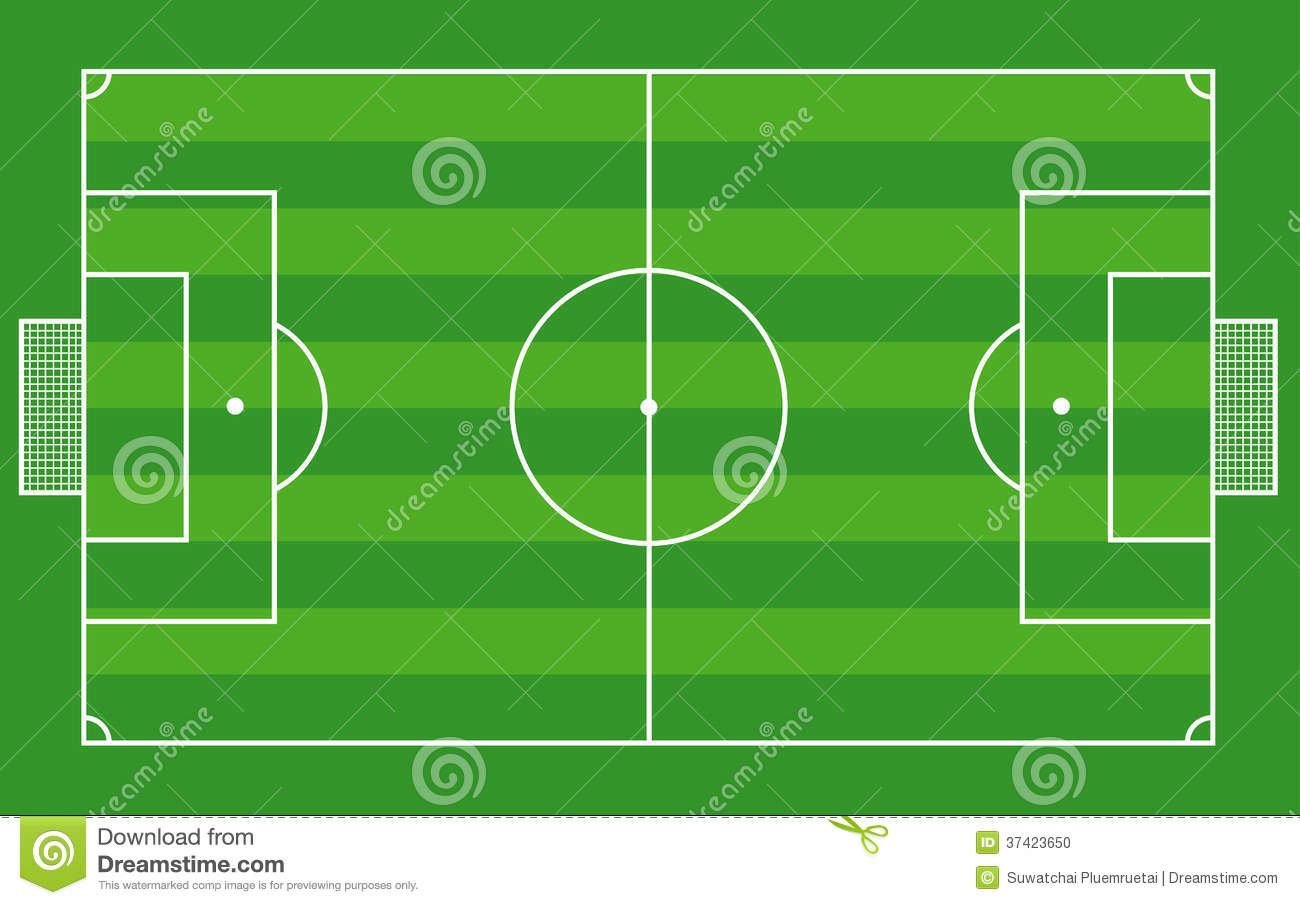 Stock Photo Top View Soccer Field Football Field Vecto Image Illustration Can Be Scaled To Any Size Loss Image37423650 on file symbol thumbs up color